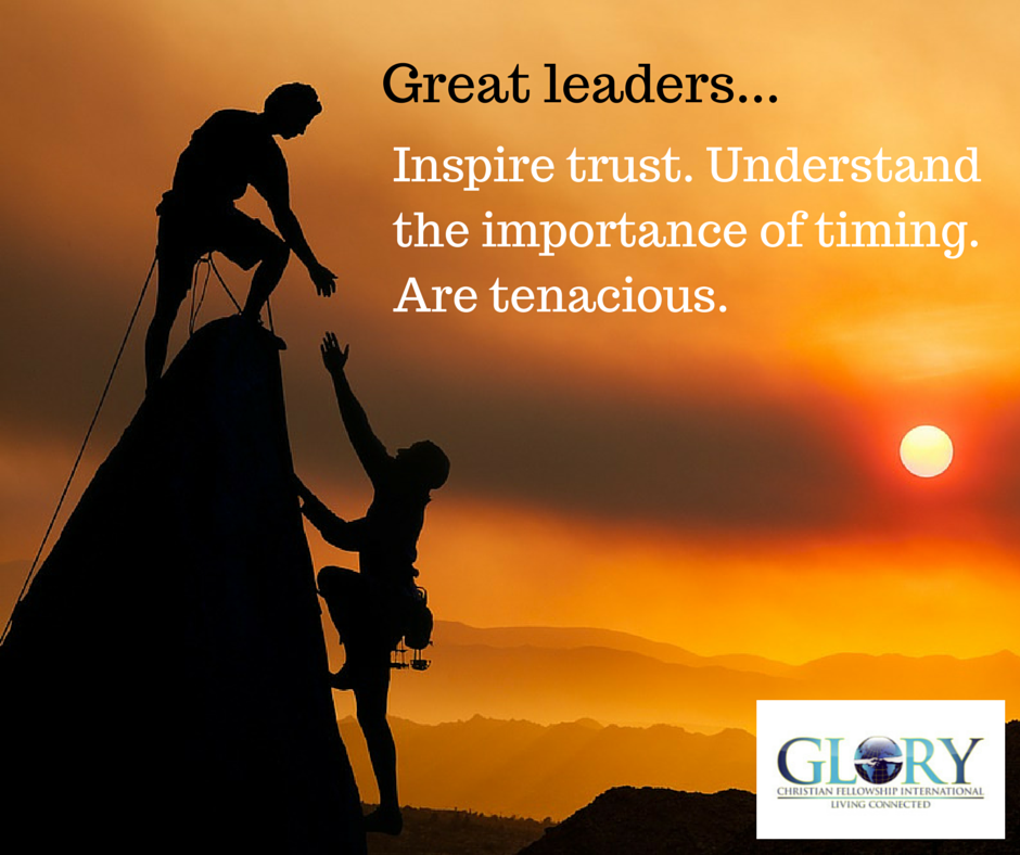 Amazing Leadership: The 3 T's Of Leadership: Trust, Timing And Tenacity