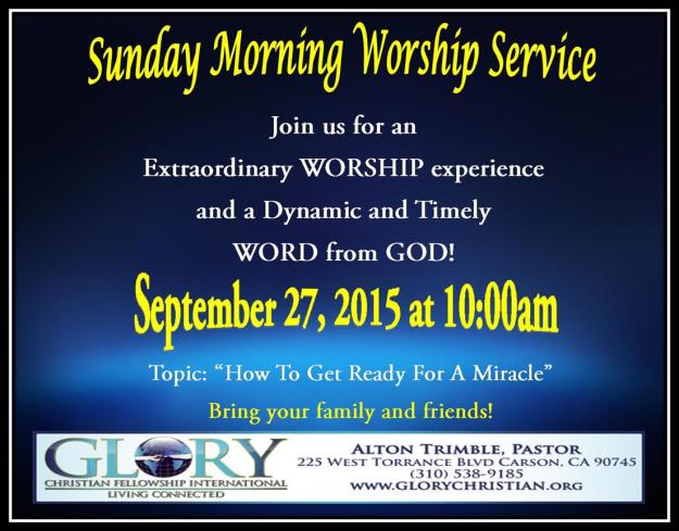 Sunday Blast 9-27-15