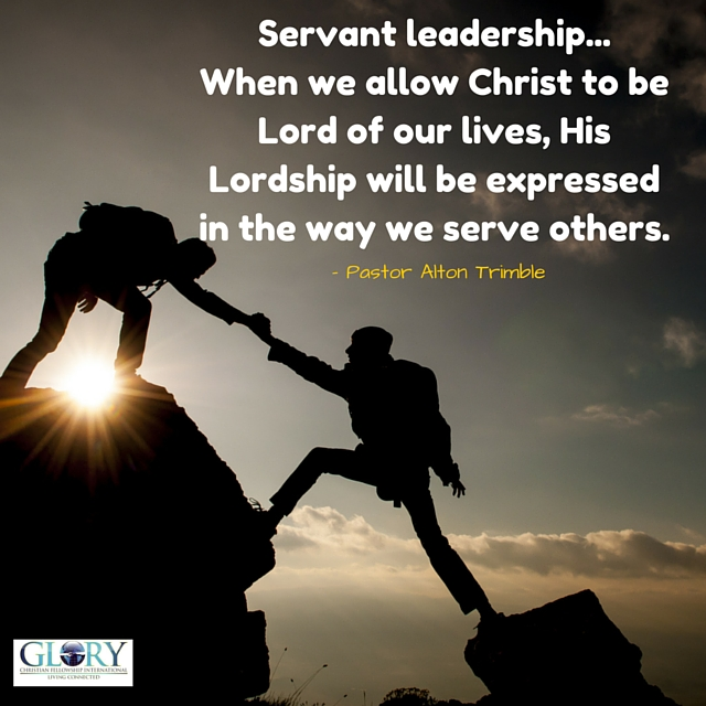 biblical servant leadership True leadership is servanthood, and the greatest leader of all time is jesus christ servanthood is an attitude exemplified by christ who, though he was in the form of god, did not count equality with god a thing to be grasped, but emptied himself, taking the form of a servant (philippians 2:6-7.