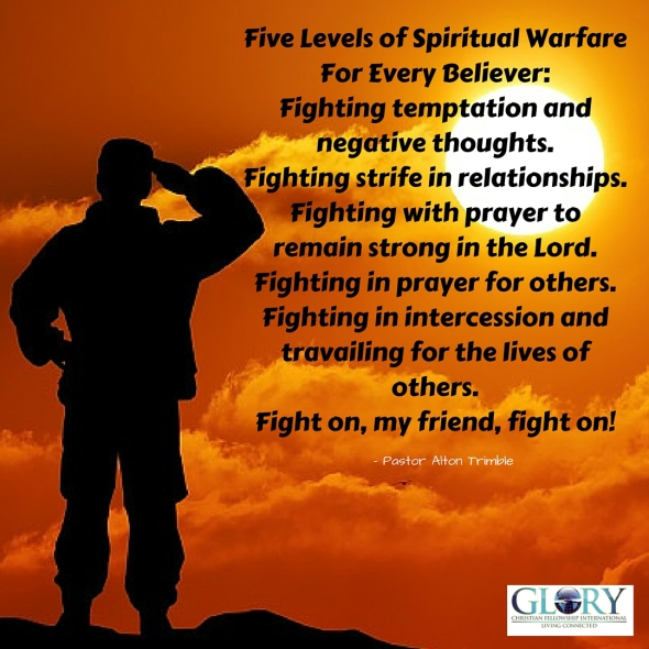 Five Levels of Spiritual Warfare For Every Believer