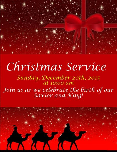 Christmas Day Service 2