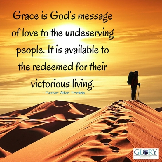 God's Grace; The Message of Love!