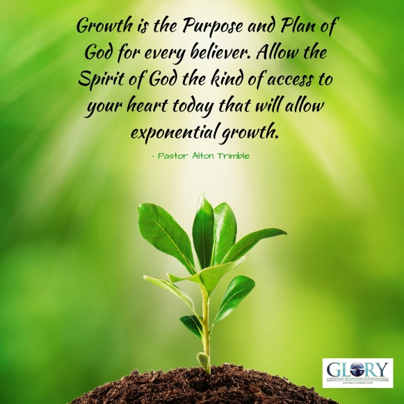 Growth Is God's Plan For The Believer!