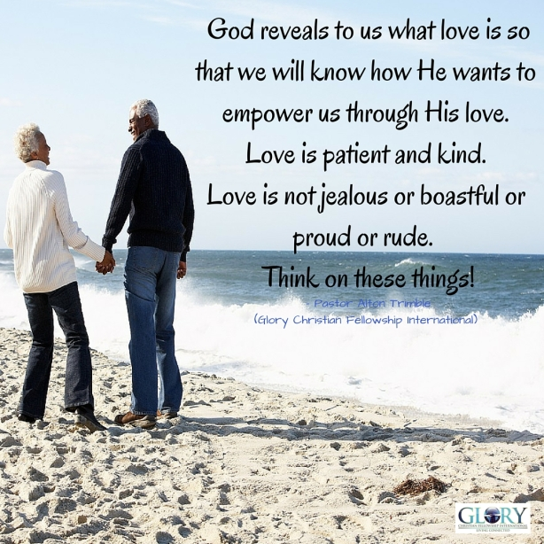 Love Is What Love Does!