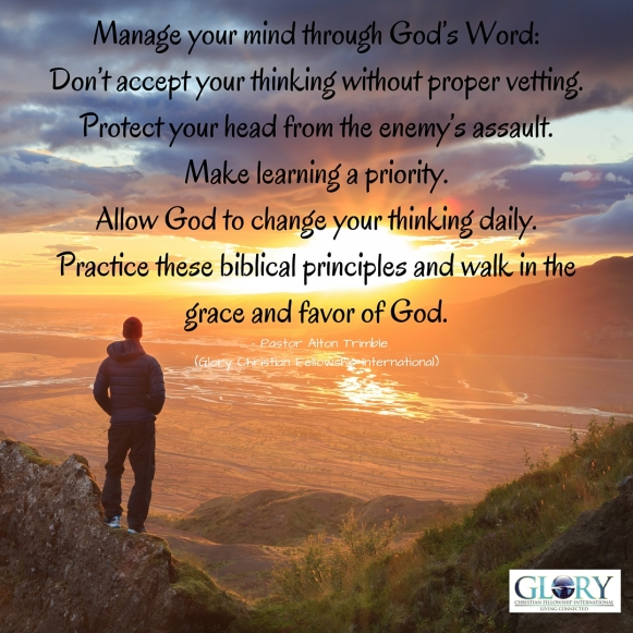 Manage Your Mind Through God's Word