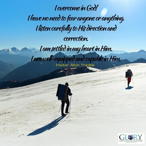Overcome in Him!