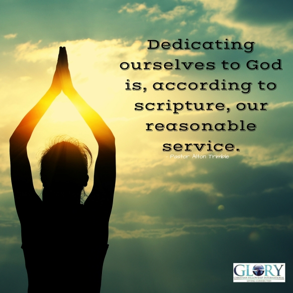 Dedicating Yourself to God!