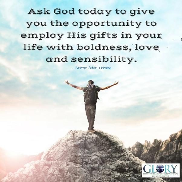 God's Gifts, God's Plan!