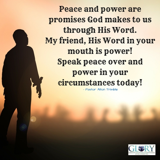 God's Peace and Power