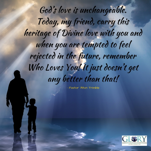 The Heritage of God's Love!
