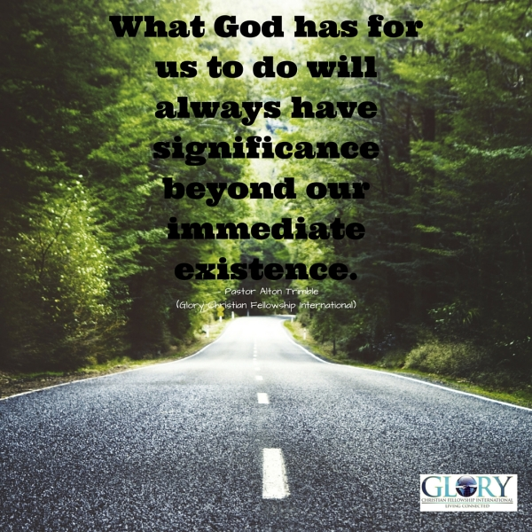 The Power of God's Purpose