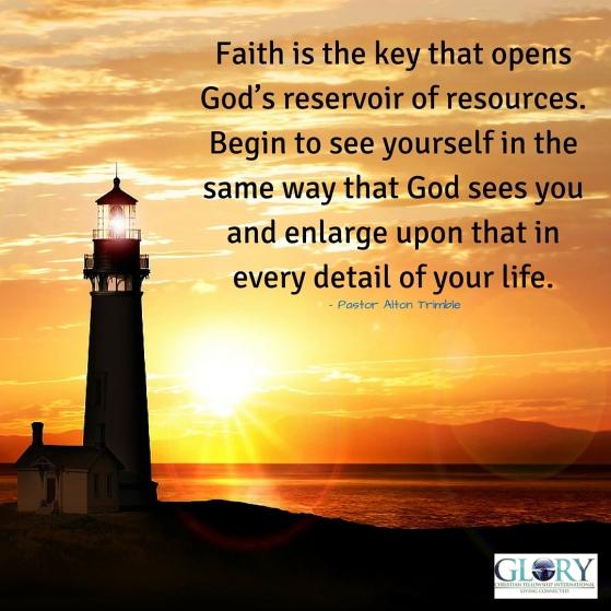 Faith Gives Us Hope!