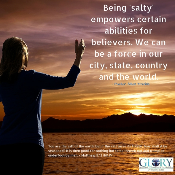 Use Your 'Salty' Abilities!
