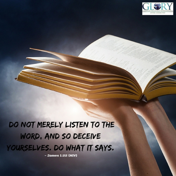 God's Word My Actions!