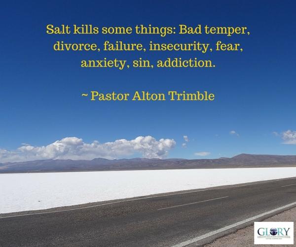 Salt kills some things