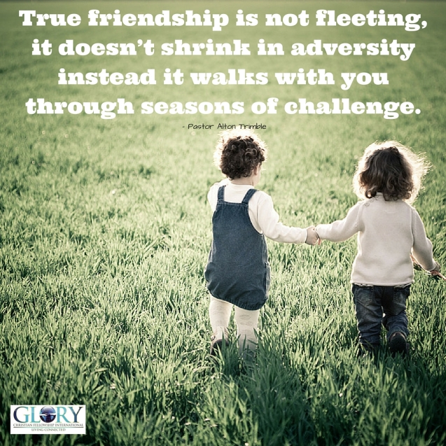 True Friendship is Commitment!
