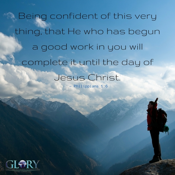 Being Confident In Him!2