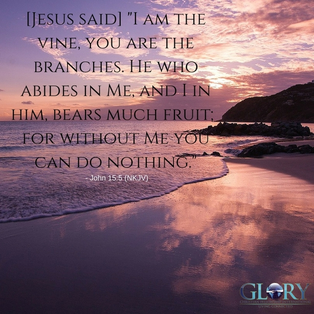 The Benefit Of Abiding In Christ!