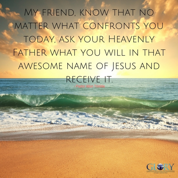 The Exalted Christ!