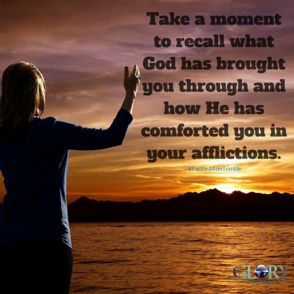 God, Our Comforter!