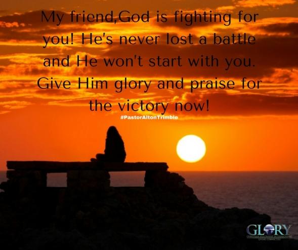 God's Right Hand!